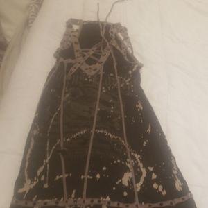 Short salvage dress